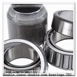 400TDO650-2 Double inner double row bearings TDI