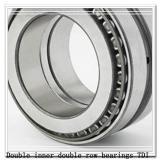 440TDO650-3 Double inner double row bearings TDI